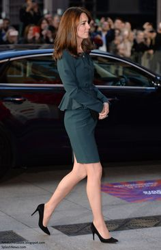 Duchess Kate: Kate Debuts Shorter Hair at ICAP's Annual Charity Day
