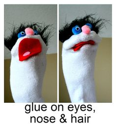Sock Puppets- super simple so even Preps might manage this!