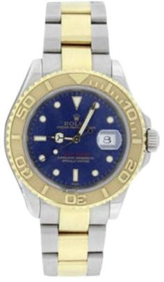 Rolex Yachtmaster 16623 Stainless Steel & 18K Yellow Gold Blue Dial 40mm Mens Watch. Rolex mens watches for professionals are authentic rolex, either they prefer black rolex or gold rolex watch.