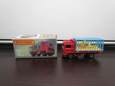 Vintage 1982 Matchbox Superfast Lesney VOLVO ZOO TRUCK #35D Mint in Original Box