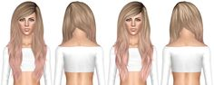 Stealthic – Fairytale hairstyle retextured by July Kapo for Sims 3 – Sims Hairs … - Bonheurfitness Sims 3 Cc Finds, Pocket Princesses, Nailart, Nail Polish, Sims Hair, Sims Mods, Sims Cc, Bollywood Fashion, Plus Size Fashion