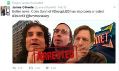 D.C. police arrest Trump inauguration domestic terrorists  Dr. Eowyn  Mere days before President Trumps inauguration using hidden cameras James OKeefes Project Veritas captured video and audio evidence of a radical Left group plotting to disrupt and cause mayhem at the inauguration.  Members ofDisruptJ20were captured on video in Pizzagates Comet Ping Pong pizzeria discussing how they would disrupt the pro-Trump Deploraball on the night of January 19 at the National Press Building Washington…