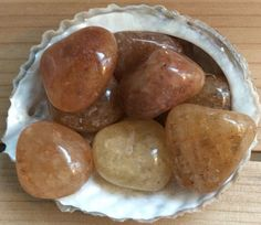 Golden Quartz Healing Stone Healing Crystal by SoulswithHeart