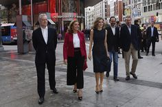 Queen Letizia attends 'Famelab España 2016 Scientific Monologues' presentation at Callao Cinema on May 12, 2016 in Madrid, Spain.