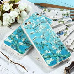 Almond Blossom Cute Phone Cases, Iphone Cases, Van Gogh Almond Blossom, Floral Iphone Case, Garden Care, Hydrangeas, Cute Designs, Iphone 7 Plus, Herbalism