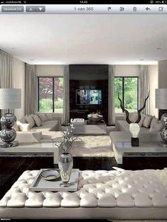 Ibiza style living room