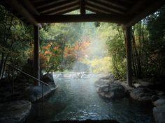 Ureshino Hot Spring, Saga Prefecture, Japan