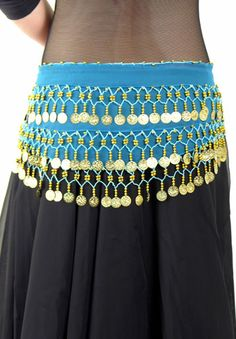 Child's Chiffon Hip Scarf (The Belly Dance Shop) - $15