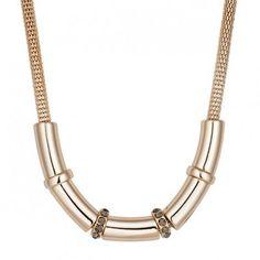 Principles by Ben de Lisi Designer crystal rondel tubular necklace | Debenhams