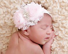 Hey, I found this really awesome Etsy listing at https://www.etsy.com/listing/196633225/girls-pink-rhinestone-headband-infant