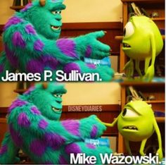 Monsters University: OFFICIALLY IN LOVE WITH THIS MOVIE! These two characters are unforgettable :)