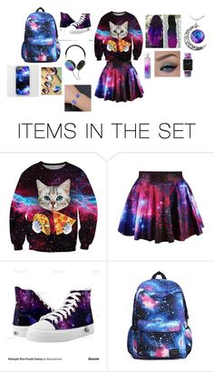"""Gaxaly"" by htttp-nicol ❤ liked on Polyvore featuring art"