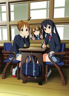 K-On! K On Anime, Manga Anime, Anime Art, Anime Girls, Best Anime Drawings, Anime Drawing Styles, Cute Anime Pics, Awesome Anime, Yui Hirasawa