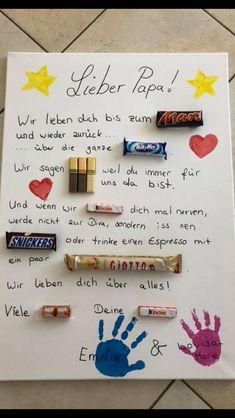 Christmas Gifts - Wunderbares Dankeschön für Papas zum Vatertag. Gilt aber auc...