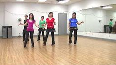 line dance never on sunday - YouTube
