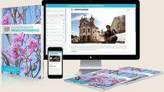 Kit do Curso de fotografia autoral - A construção do projeto fotográfico, apostilas, ebooks, vídeos e material complementar