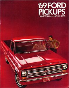 1969 Ford F-Series Pickup