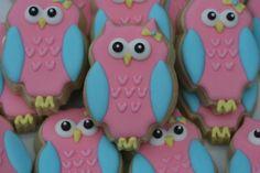 Owl Cookies #owl #cookies