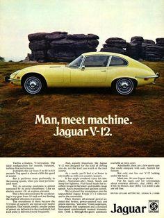 Nice vintage Jaguar advertisement