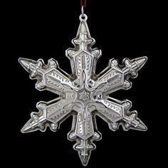 1996 Gorham Snowflake Sterling Ornament
