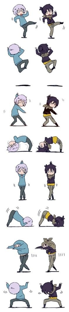Photo by black_anime:   anime  no6  shion  nezumi  love  cute  chibi  music  dance  kawaii  yaoi  animeboy  boy