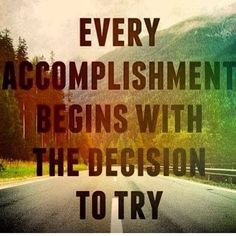 #accomplish #BabySteps #decisiontotry #FlyLady