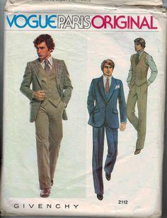 1970s Vintage Sewing Pattern Vogue Paris by historicallypatterns