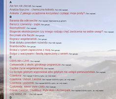 Spis treści uaktualniony o 10 tytułów. Sprawdźcie czy wszystko czytaliście? ;) http://toninapisal.blogspot.com/p/alfabetyczny-spis-tresci-caego-bloga.html