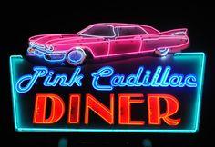 Pink Cadillac Diner Wildwood NJ 5X7 Print by KeithSwangoPhotos, $15.00