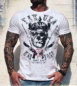 .Yakuza Ink t-paita War Zone White UUTUUS!