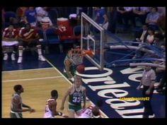 b37bc49176b4 Larry Bird 1985  60pts vs. Atlanta Hawks - YouTube