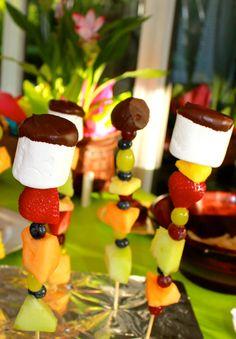 Kids Party Food Fruit Skewers