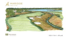 Steve Smyers Golf Course Architects   Maridoe Golf Club   Hole  15     Steve Smyers Golf Course Architects   Maridoe Golf Club   Hole  9 Sketch    stevesmyers