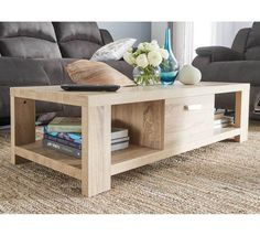 A coffee table is an essential part of any living room. Browse our range of affordable coffee table options online or visit us at Fantastic Furniture. Lift Up Coffee Table, Coffee Table Rectangle, Oak Coffee Table, Oak Table, Coffee Table Design, Apartment Furniture, Living Room Furniture, Contemporary Coffee Table, Furniture Assembly