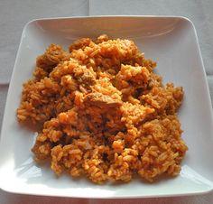 Blondies, Fried Rice, Nom Nom, Grains, Food And Drink, Dinner Recipes, Pork, Healthy Recipes, Healthy Food