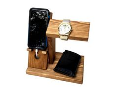 iPhone Dock Station with Key Holder / by DandJLollipopStands