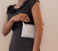 """Clutch  Handtasche """"Coco"""" mit Band von Stoff Schere Papier auf DaWanda.com"""
