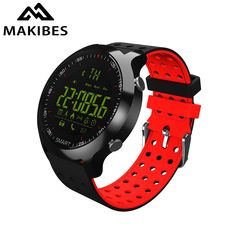 Smart Sports Watch Makibes EX18C Bluetooth 4.0 Sports Watch 5 ATM Water Resistant Call Notification Remote Control Fitness Watch