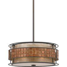 Quoizel 'Laguna' 3-light Pendant | Overstock.com Shopping - The Best Deals on Chandeliers & Pendants