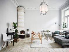 Chic Scandinavisch appartement in Zweden