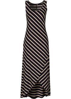 Vestido preto/bege encomendar agora na loja on-line bonprix.de  R$ 119,00 a partir de O foco deste vestido se concentra nas costas, e claro, na fenda ...