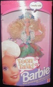 Teen Talk Barbie