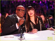 Demi Lovato and L.A. Reid during Sesaon 2 of The X Factor USA