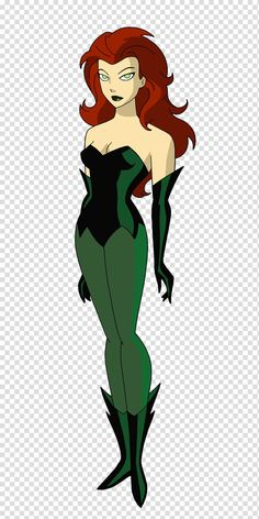 Batman TAS: Poison Ivy by by on - Batman Clothing - Ideas of Batman Clothing - Batman TAS: Poison Ivy by by on Dc Poison Ivy, Poison Ivy Dc Comics, Poison Ivy Cosplay, Poison Ivy Batman, Poison Ivy Villain, Poison Ivy Costumes, Batgirl, Catwoman, Arte Dc Comics
