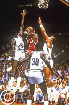 Michael Jordan 1984 USA Basketball from the Golden Age of Basketball, the NBA in the Decade of the EIghties by Steven A. Roseboro