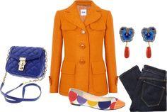 """Orange you glad?"" by barbara-iv on Polyvore"