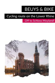 """🏰 Follow in the footsteps of the artist Joseph Beuys on the Lower Rhine and discover exciting places that tell about his life and work by bike on the """"Beuys & Bike"""" cycling route. One place on the route is Schloss Moyland: This moated castle is home to the world's largest collection of Beuys works. #VisitNRW #germany #cycling #lowerrhine #cyclingtour #cyclingvacation #bike #holidays #outdoorexperiences #culture #culturtrip © Tourismus NRW e.V., Johannes Höhn North Rhine Westphalia, Rare Animals, Christmas Mood, Water Lilies, Small Towns, Old Town, Cycling, Castle, Germany"""