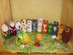 Купить Театр пальчиковый и не только! - пальчиковый театр, театр, игрушки, персонажи сказок, зверята, сказка