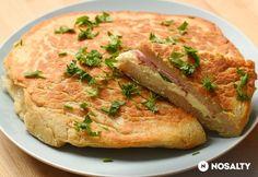 Töltött krumplilepény Potato Recipes, Bread Recipes, Cake Recipes, Hungarian Recipes, Hungarian Food, Potato Cakes, Appetisers, Savoury Cake, Salmon Burgers