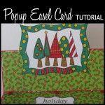 Popup (horizontal) Easel Card Tutorial